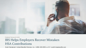 IRS Helps Employers Recover Mistaken HSA Contributions