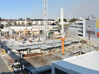 View of the Coles/Target Building Site