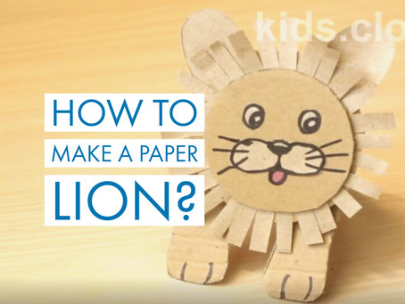 How to create a carton lion? Free templates included