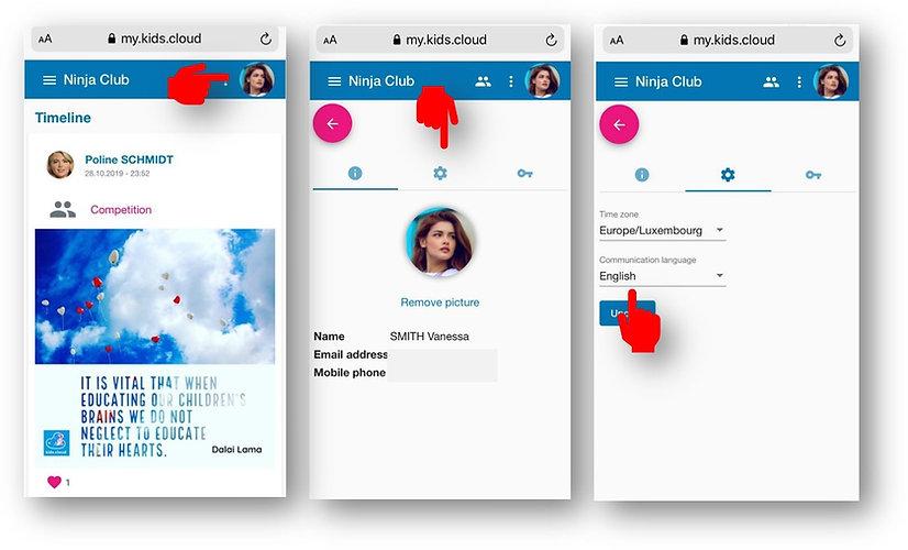 Changing language profile.jpg