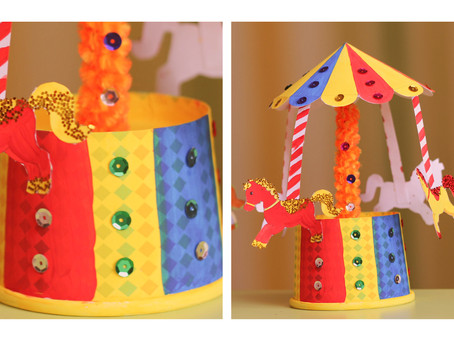 Merry-go-round – how to make – DIY