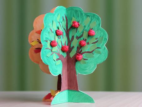 Paper four-seasons-tree