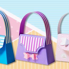 How to create a fantastic paper handbag?