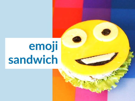 Happy Sandwich Idea or How to surprise your children for a lunch break?