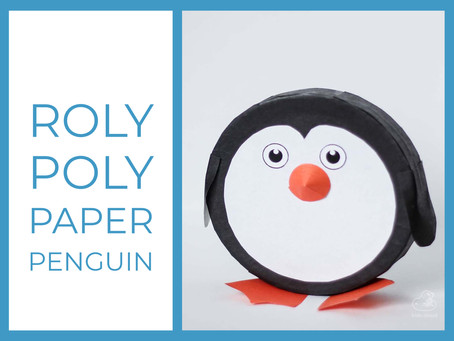 How to make a roly-poly penguin?