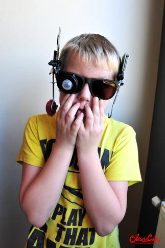 Steampunk Google Glass
