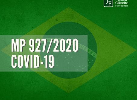 MP 927/2020 - COVID-19 após edição presidencial.