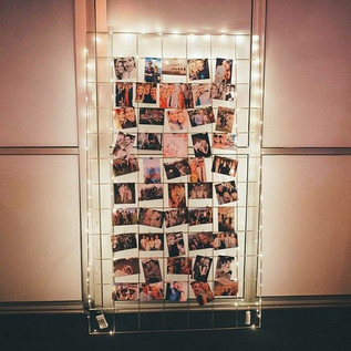 Light up Industrial Photo Board
