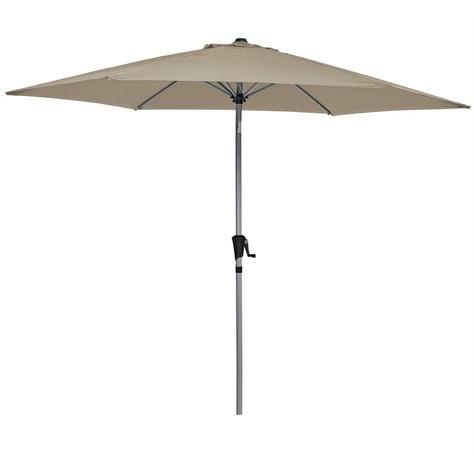 Cream Market Umbrellas