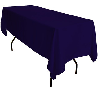 Navy Rectangle Table Cloth