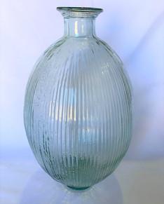 Large Vintage Glass Bottle