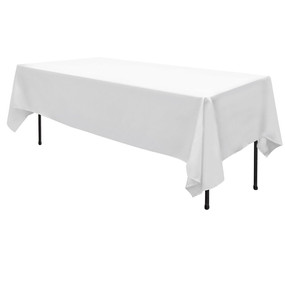 White Rectangle Table Cloth