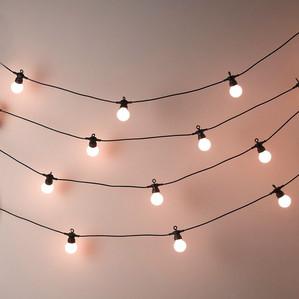 Retro White Lights