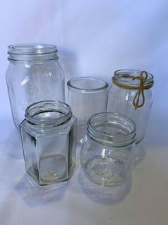 Variety of Jars