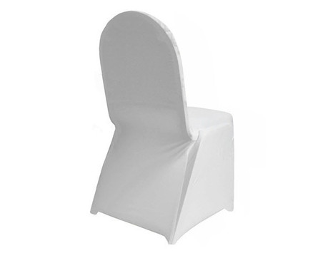 Lycra Chair Cover White