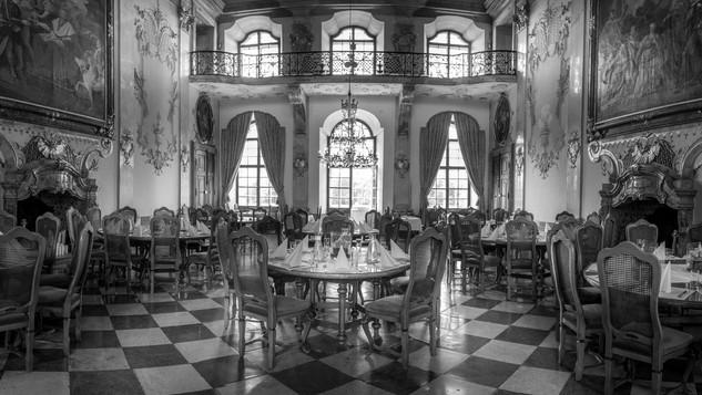 Im Schloss Leopoldskron