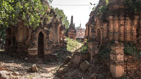 Pagodas / Myanmar