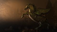 Pegasus in Mirabell Garden