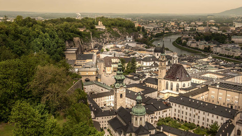 Salzburg View from the Fortess