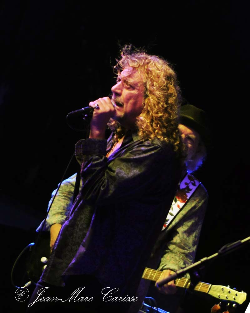Robert Plant, © J.M.Carisse 2011