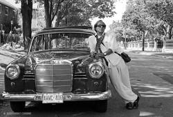 Pagliaro_&_1959_Mercedes,_photo_©_Jean-Marc_Carisse_2011.