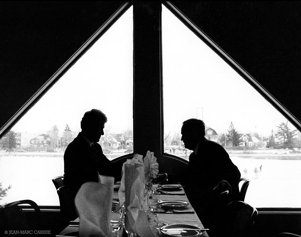 Clinton, Chrétien, ©J.M.Carisse 2005