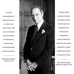 PM P.E.Trudeau ©J-M Carisse'70
