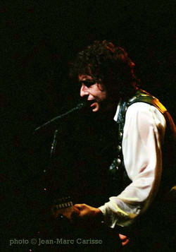 Bob Dylan, photo© Jean-Marc Carisse 1988