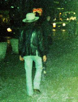 Dylan NYC stroll ©J.M.Carisse 1975