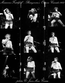 Marianne Faithfull, ©J.M.Carisse 1983