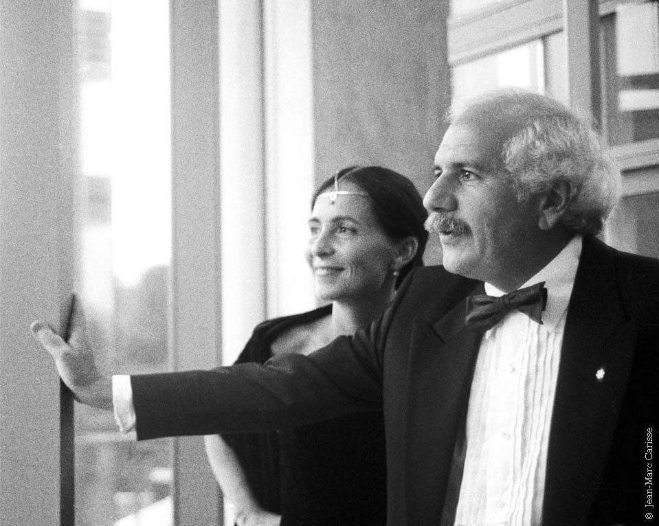 Moshe Safdie, photo Jean-Marc Carisse 1988 0520A28