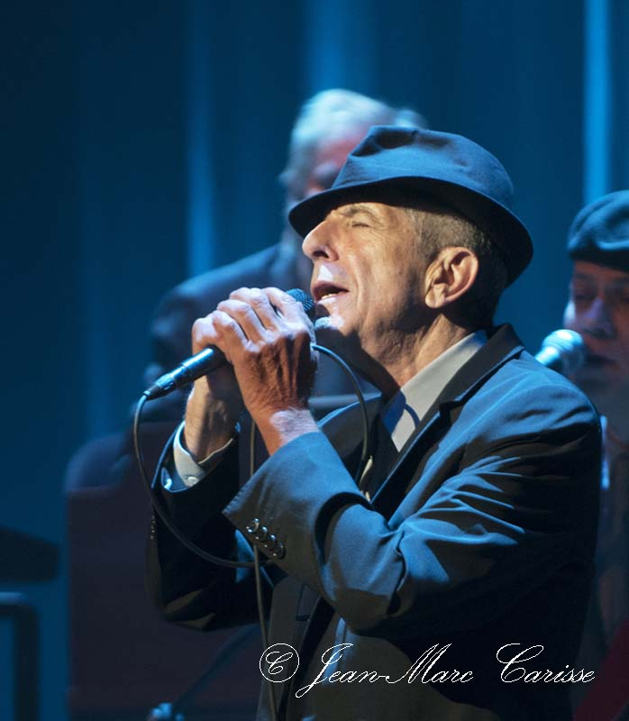 Leonard Cohen, ©J.M.Carisse 2009