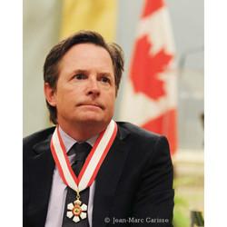 Michael J Fox ©J.M. Carisse 2011