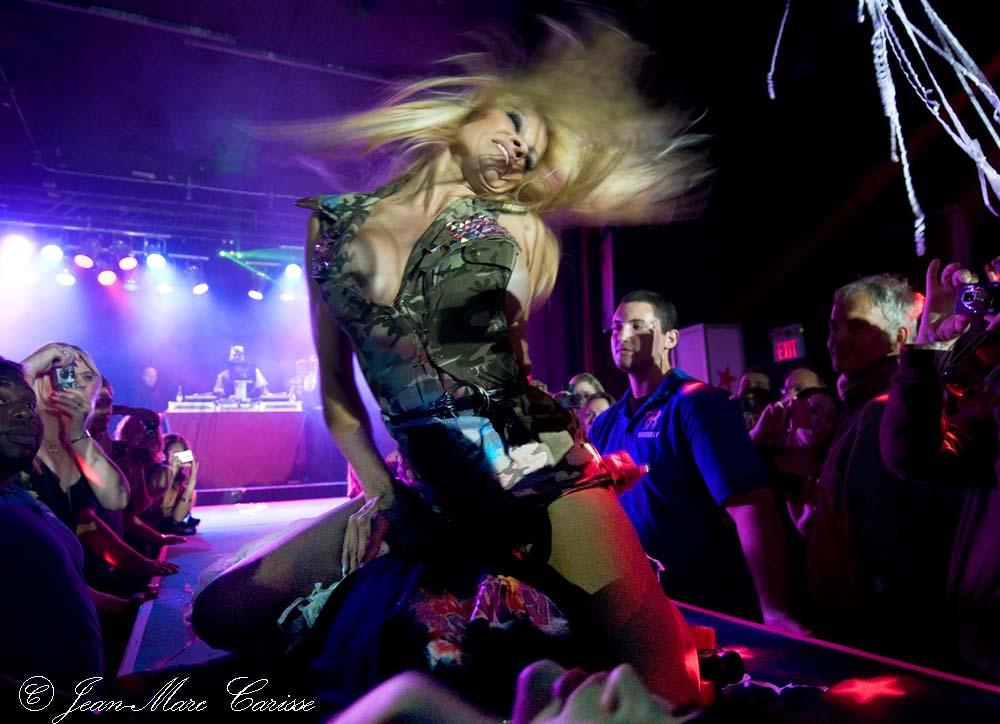 Pamela Anderson, © J.M.Carisse 2009
