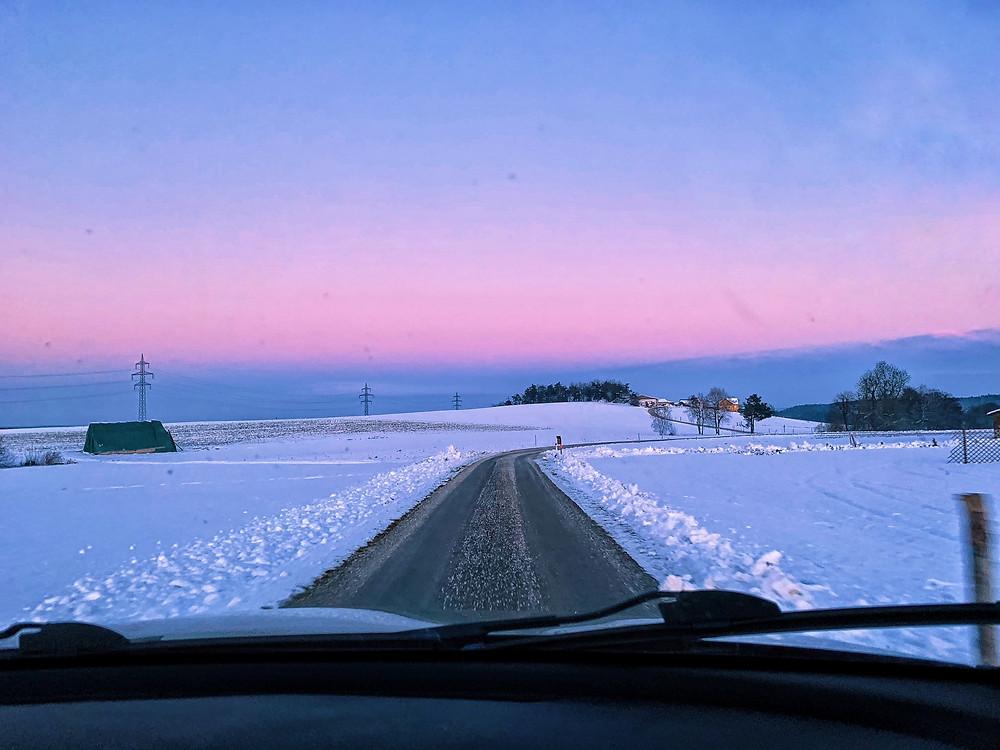 Waldviertel im Winter. Fotos von Reportagefotograf Marco Kokol