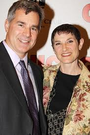 With husband David Grenke