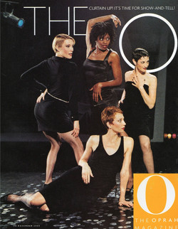 On the cover of O Magazine