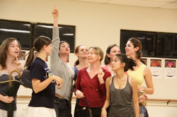 In rehearsal for ON THE TOWN