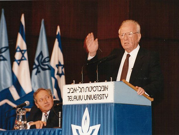 Yitzhak Rabin Elected for the Second Time