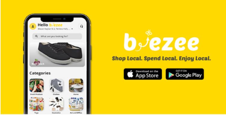 A ad for Beezee