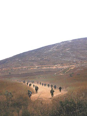226th Brigade entering into Lebanon