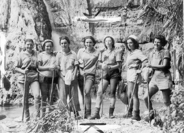 Women of the Palmach at Ein Gedi