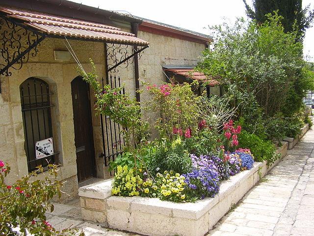 Homes in the Yemin Moshe neighborhood in Jerusalem