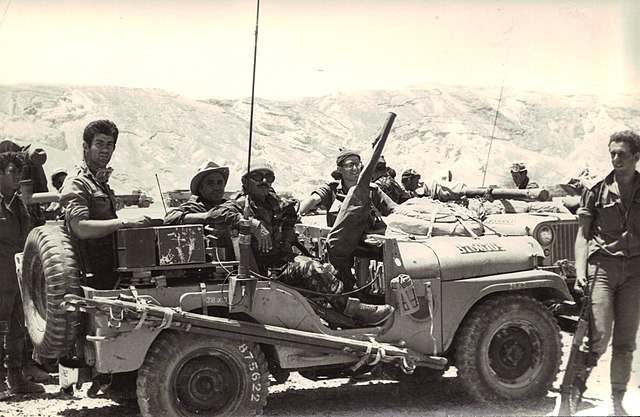 Israeli soldiers from the Shaked Reconnaissance Force during the Six-Day War.