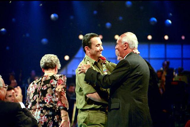 Ehud Barak and Reginald Levy