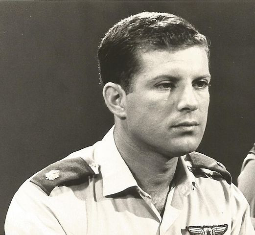 Profile of Oded Marom in his IDF uniform