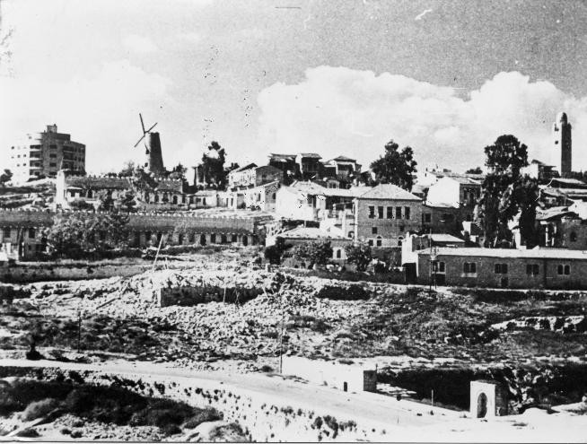 Montefiore Quarter - Mishkenot Sha'ananim