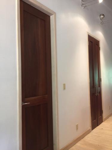 Custom made Rosita Walnut internal doors