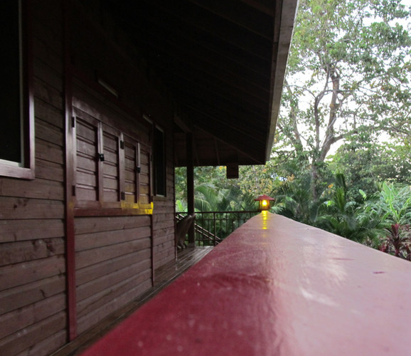 Western exterior (solar inverter cupboard)