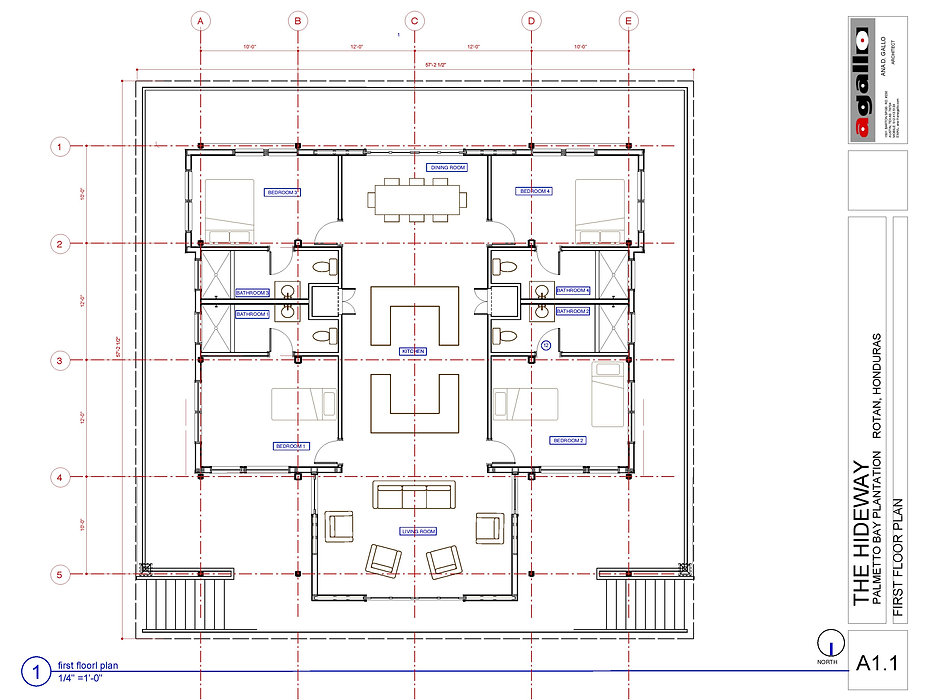 The Hideaway Floorplan
